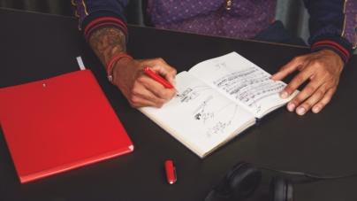 Montblanc M Red special edition 2018: la stilografica firmata da Marc Newson
