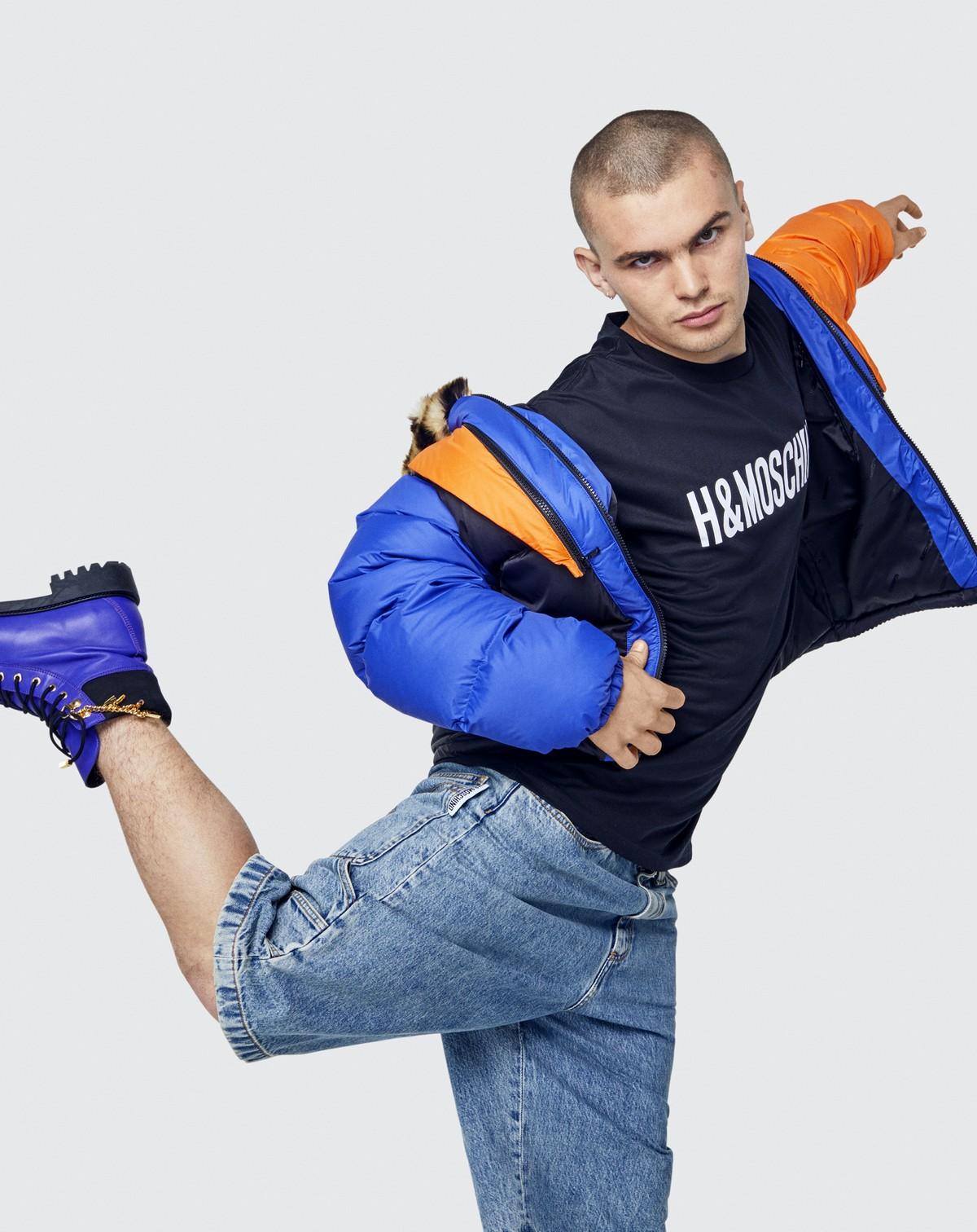 Moschino TV H&M 2018 look