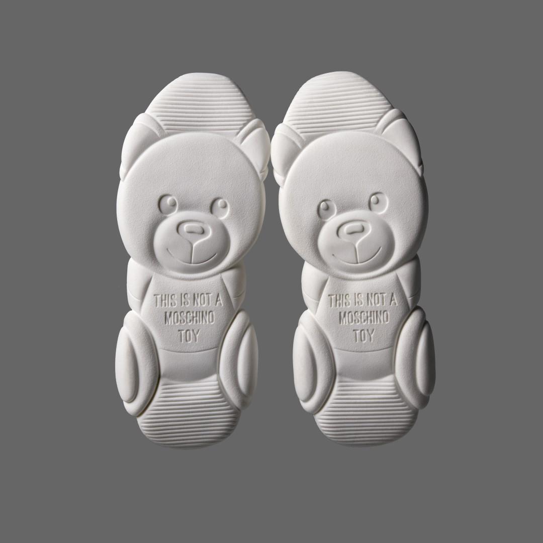 Moschino sneakers Teddy Shoes primavera estate 2019