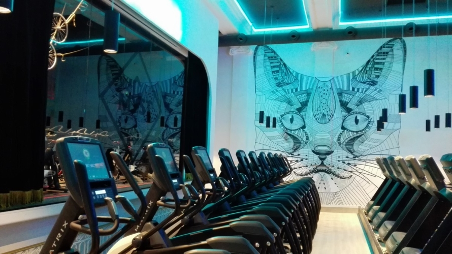 Myst Gym Club Puerta del Sol: un teatro in stile Liberty si trasforma in moderna palestra