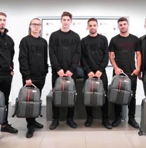 Piquadro AC Milan 2018: il brand è Official Tech Travel Partner della squadra