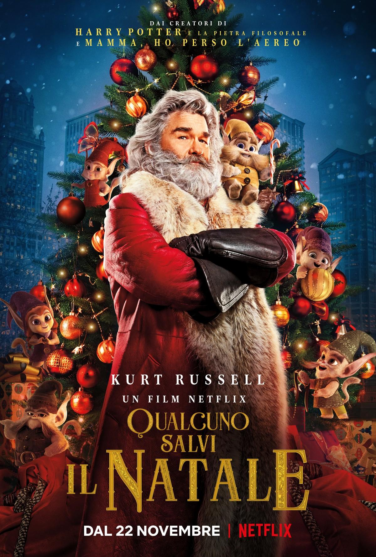 Qualcuno salvi il Natale film Netflix 2018