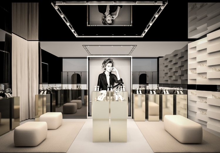 René Caovilla boutique Las Vegas