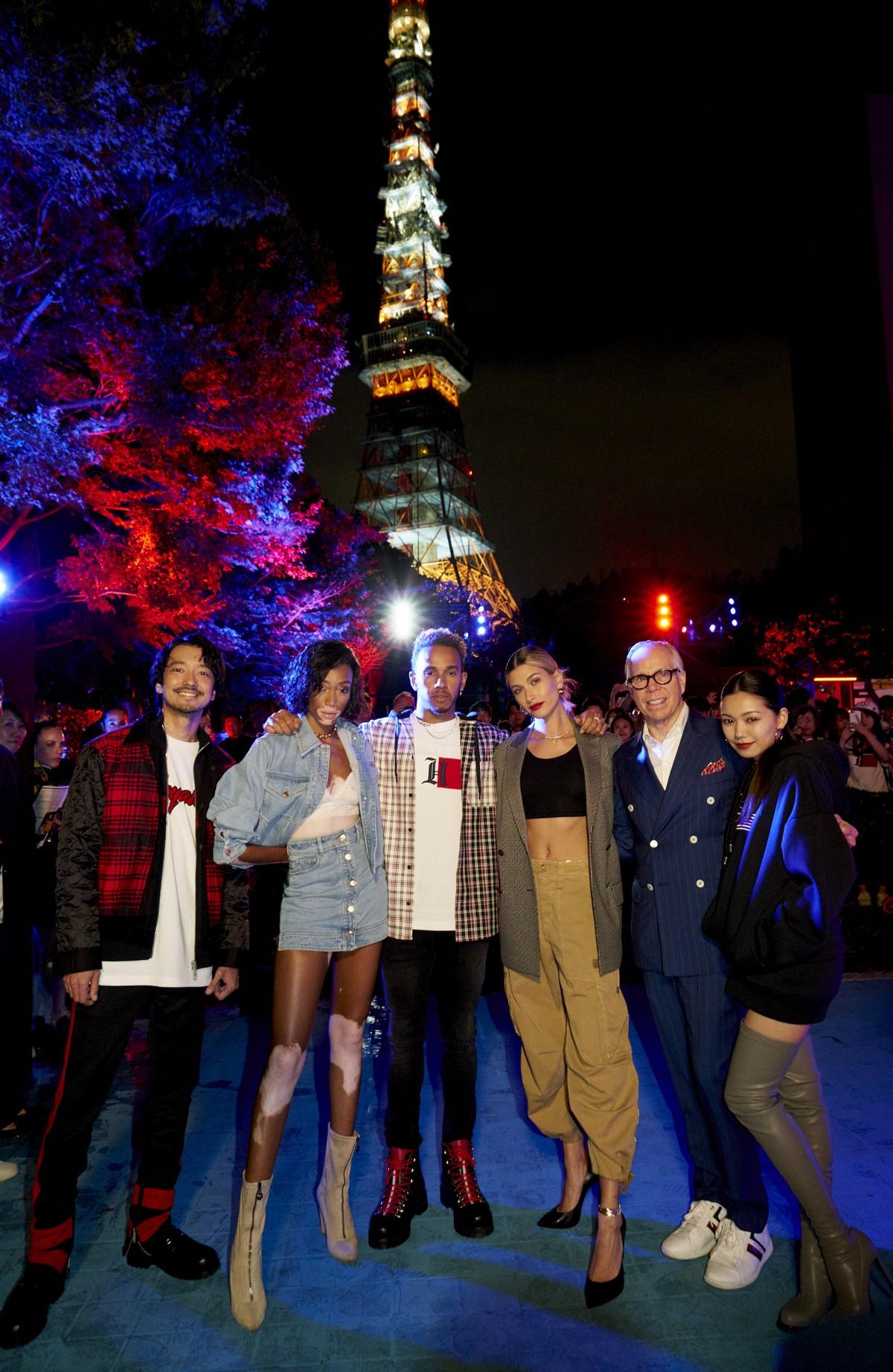 Tommy Hilfiger sfilata Tokyo 2018