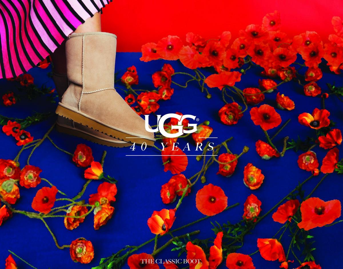 UGG campagna 40 anniversario