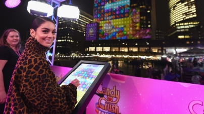Vanessa Hudgens Candy Crush Friends Saga New York: lo spettacolare evento di lancio