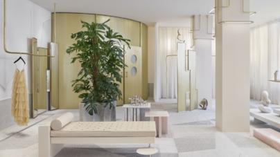 forte forte Parigi boutique: lo spazio raccontato dalla materia