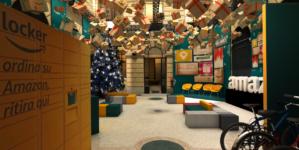Amazon pop-up store Milano: il Loft for Xmas per il Natale e il Black Friday