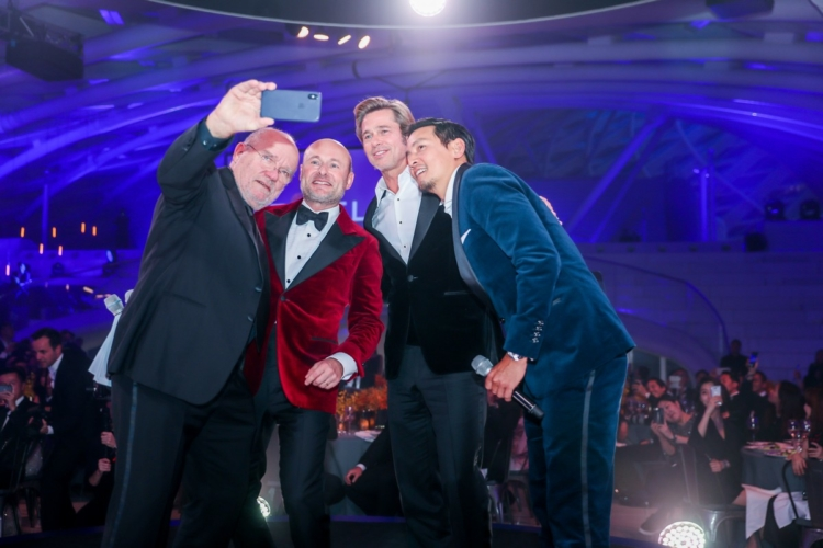 Breitling Pechino Gala Night 2018: guest Brad Pitt, Daniel Wu e Peter Lindbergh
