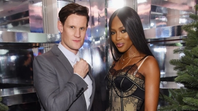 Burberry New York party Natale 2018: protagonisti Matt Smith e Naomi Campbell