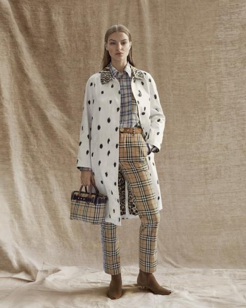 Burberry collezione Pre-Fall 2019