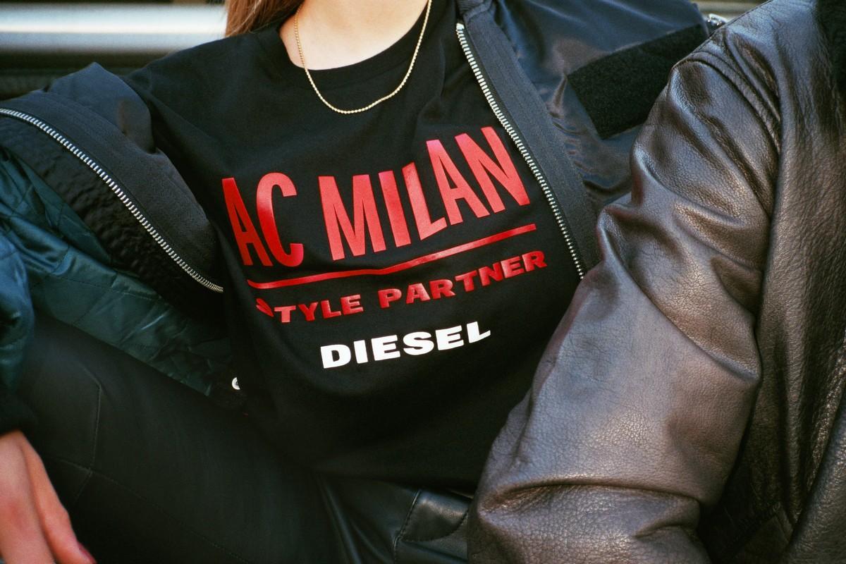 Diesel AC Milan collezione 2018