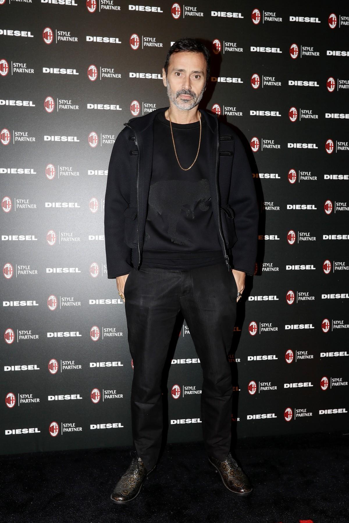 Diesel AC Milan collezione 2018 party