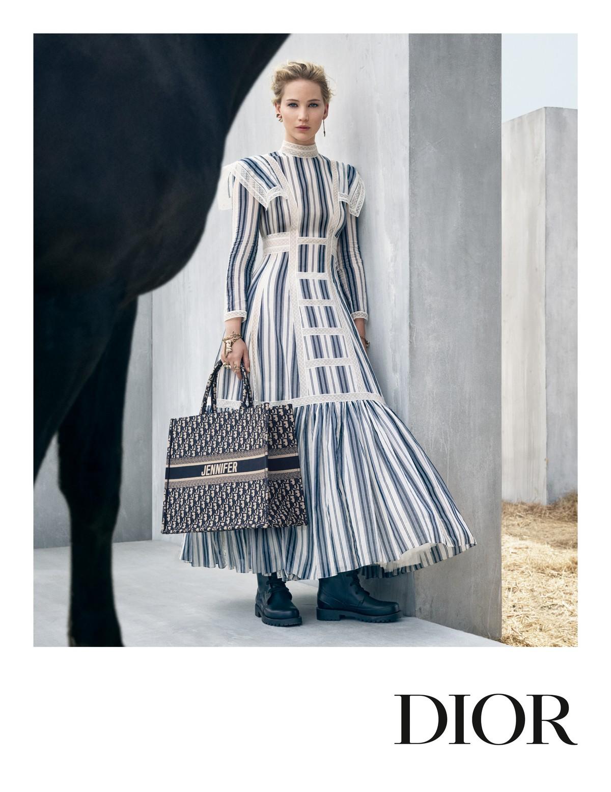 Dior Jennifer Lawrence campagna Cruise 2019
