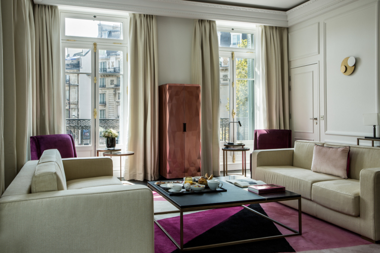 Fauchon Hotel Parigi 2018: Roche Bobois inventa il Gourmet Bar