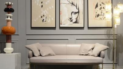 Formitalia nuovi divani 2018: gli imbottiti Ginevra e Mimì della Glamour Collection