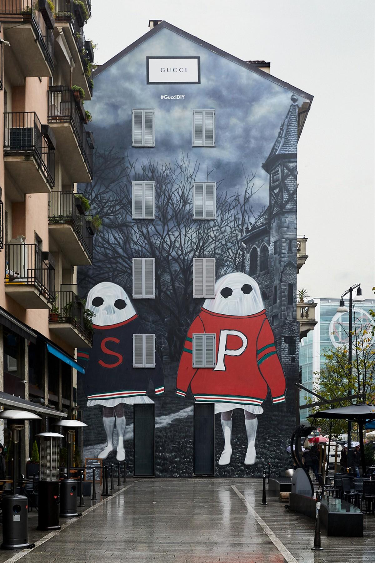 Gucci Art Wall Milano novembre 2018