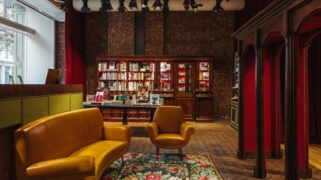 Gucci Wooster Bookstore New York: la libreria dal sapore vintage curata da Dashwood Books