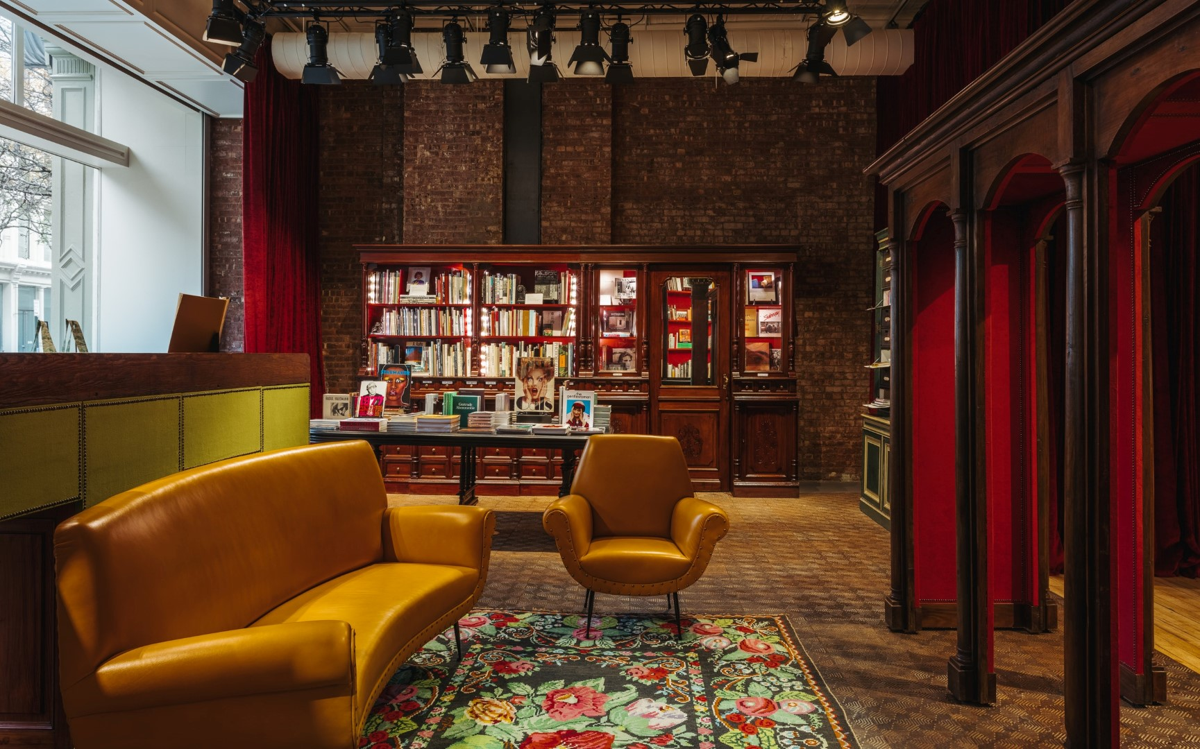 Gucci Wooster Bookstore New York