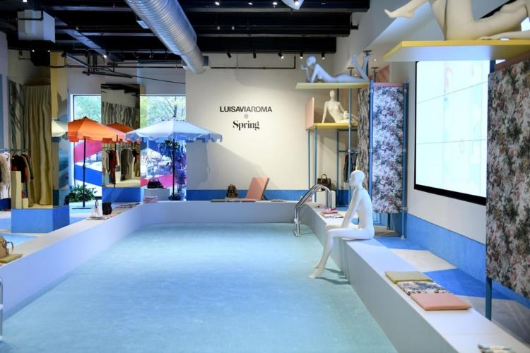 LuisaViaRoma New York Spring Studios: aperto il primo pop-up store negli Stati Uniti