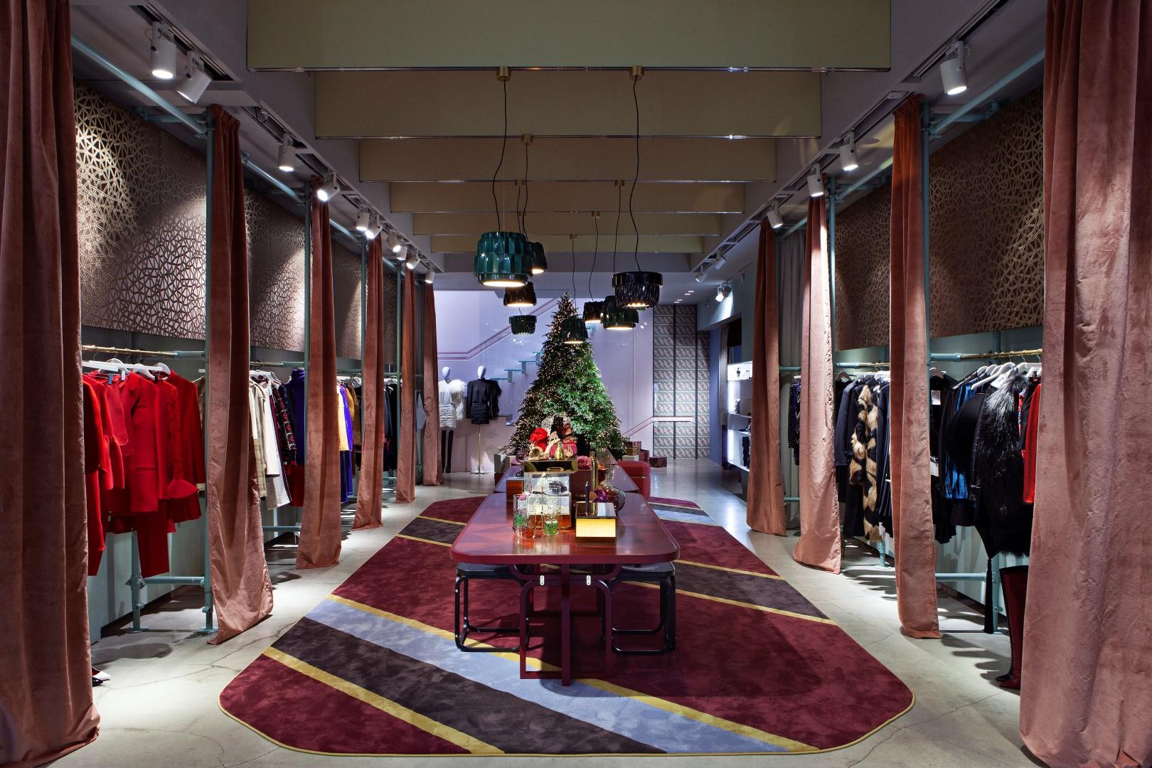LuisaViaRoma Firenze Natale 2018