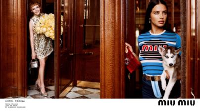 Miu Miu campagna Croisière 2019: protagoniste Kendall Jenner e Adriana Lima