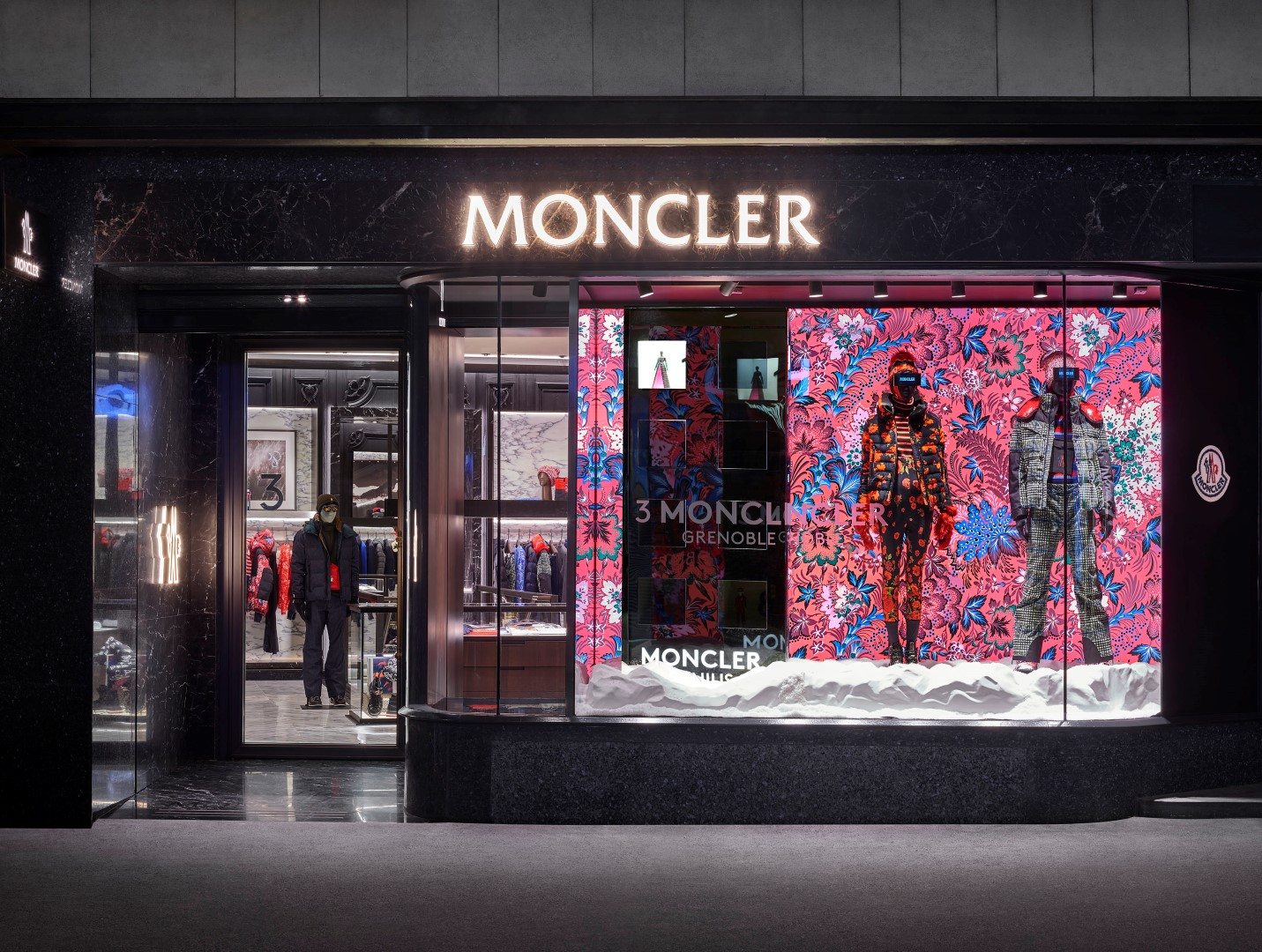 Moncler boutique Svizzera Lucerna