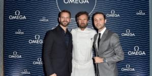 Omega Seamaster Diver 300M 2018: la cena esclusiva da Carlo Cracco con Alessandro Borghi