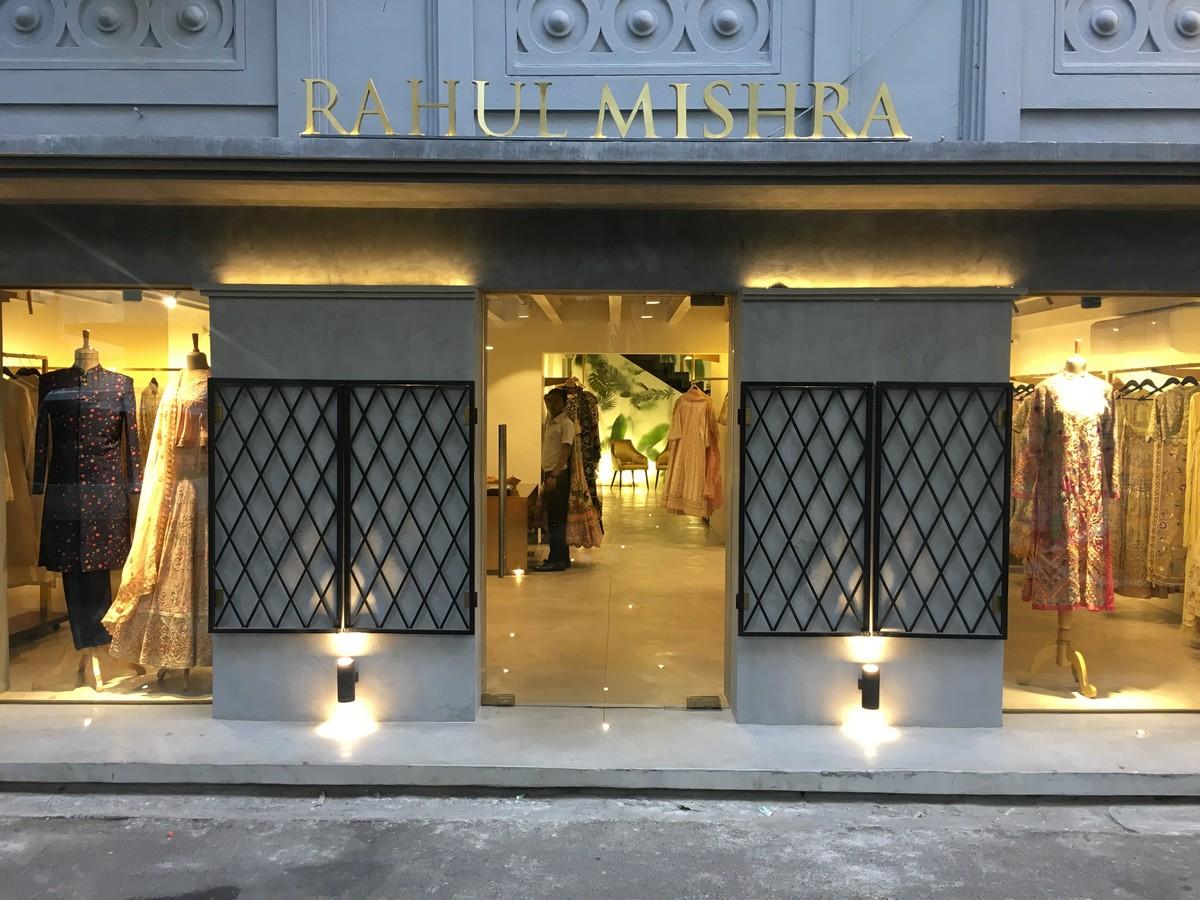 Rahul Mishra Mumbai store