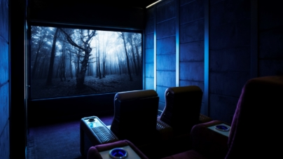 Sala cinema in casa moderna: Samsung LED for Home, un intrattenimento senza precedenti