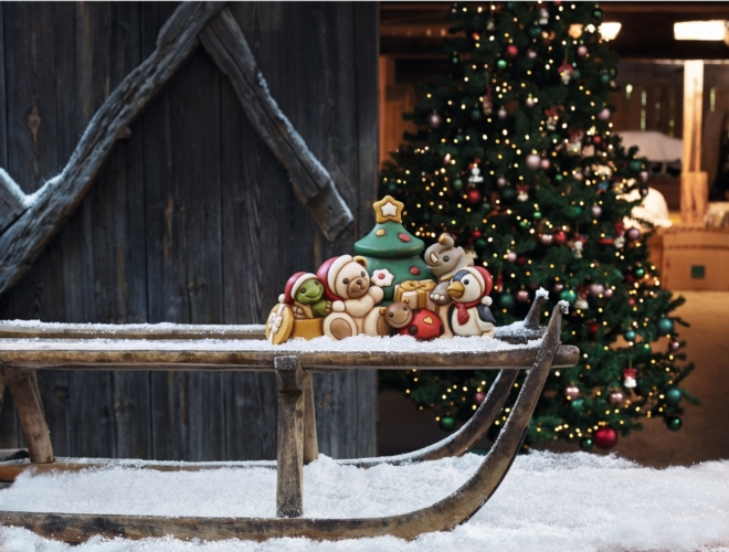 Thun presepe Natale 2018: i nuovi personaggi e la Piramide natalizia altoatesina