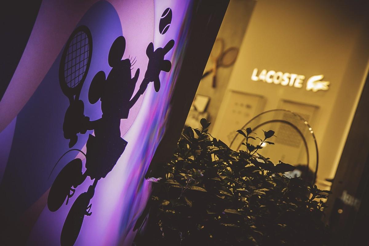 Topolino 90 anni party Lacoste