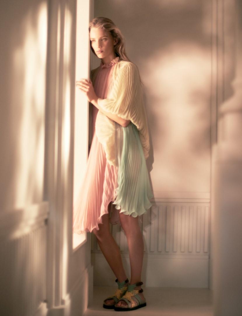 Alberta Ferretti campagna primavera estate 2019