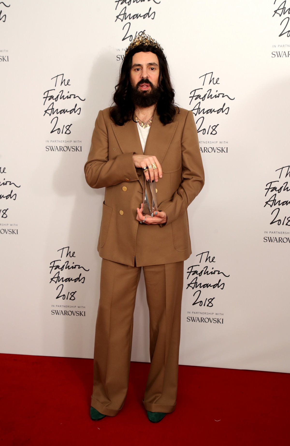 British Fashion Council Awards 2018