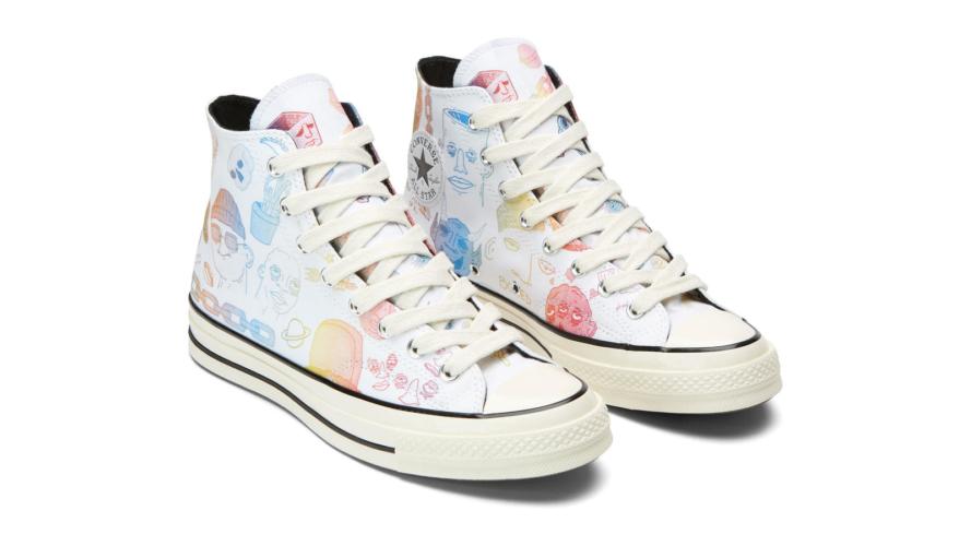 Converse Artist Series Foot Locker: le sneakers dallo stile underground e street