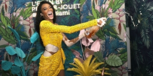 Design Miami 2018 Perrier Jouet: il party con Winnie Harlow