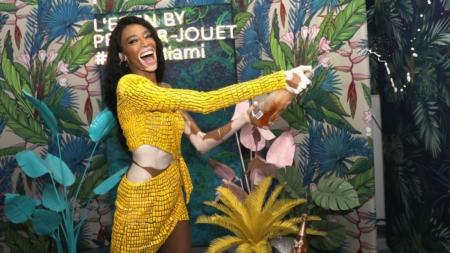 Design Miami 2018 Perrier Jouet: il party con Winnie Harlow