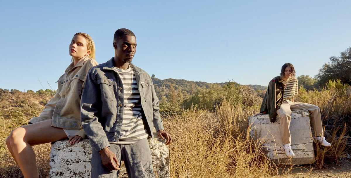 Guess Jeans Infinite Archives | capsule collection