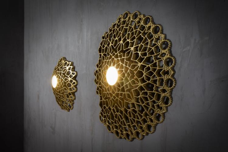 Karman Notredame lampada 2018: la magia della luce in un'anima tecnologica
