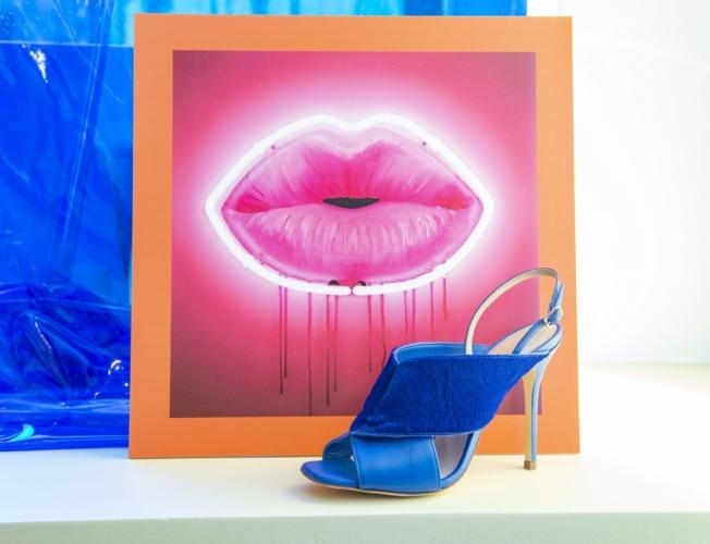 Mario Valentino scarpe primavera estate 2019: l'estetica della Pop Art