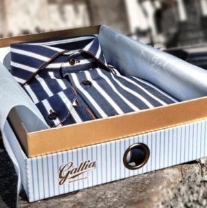 """Pitti Uomo Gennaio 2019 Gallia: la collezione """"Slow-Shirt"""""""