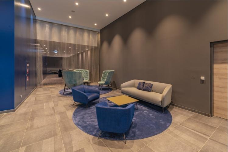 Roomz hotel Vienna Prater: My home collection arreda la lounge