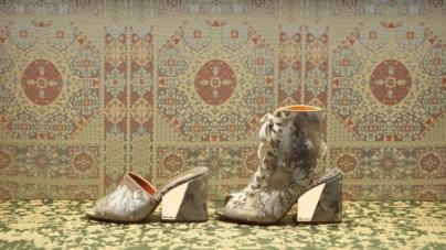 Santoni Rubelli scarpe 2019: la capsule collection dal gusto romantico