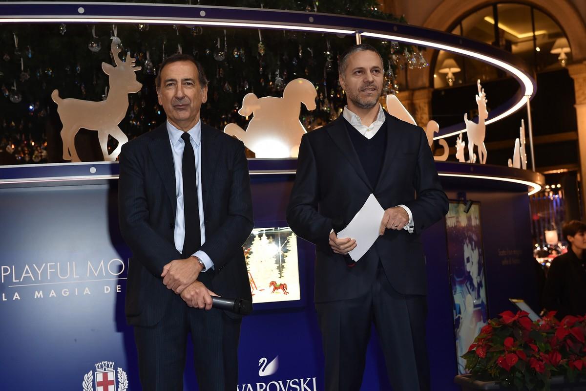 Swarovski Albero Natale Milano 2018