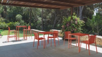 Talenti outdoor Trocadero 2018: i mobili da giardino in versione Living Coral