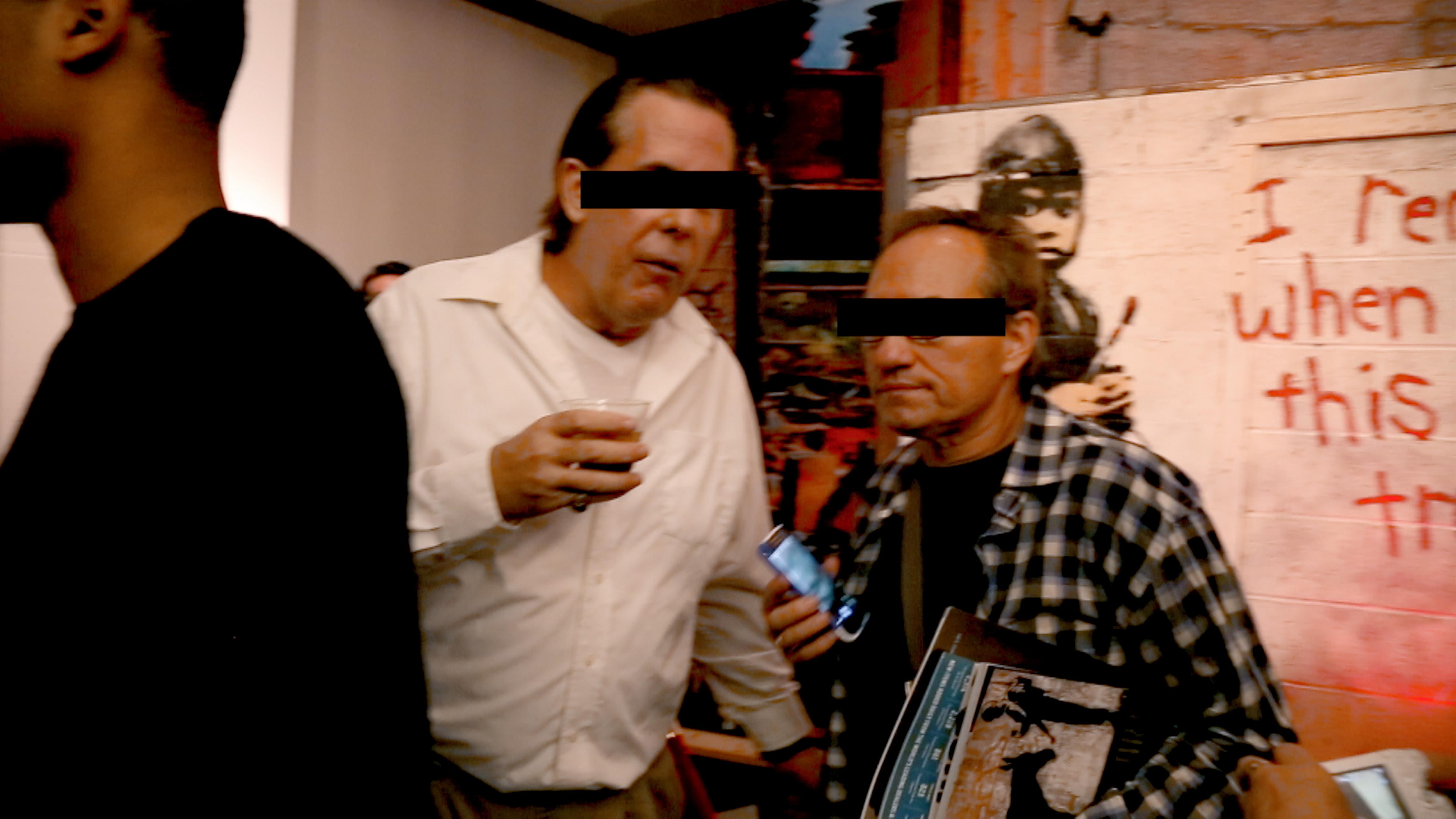 banksy mostra documentario