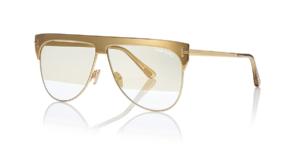 Tom Ford occhiali Natale 2018: gli esclusivi modelli placcati in oro 18 carati