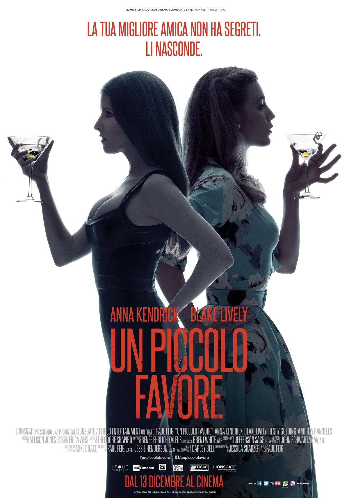 Un piccolo favore trailer