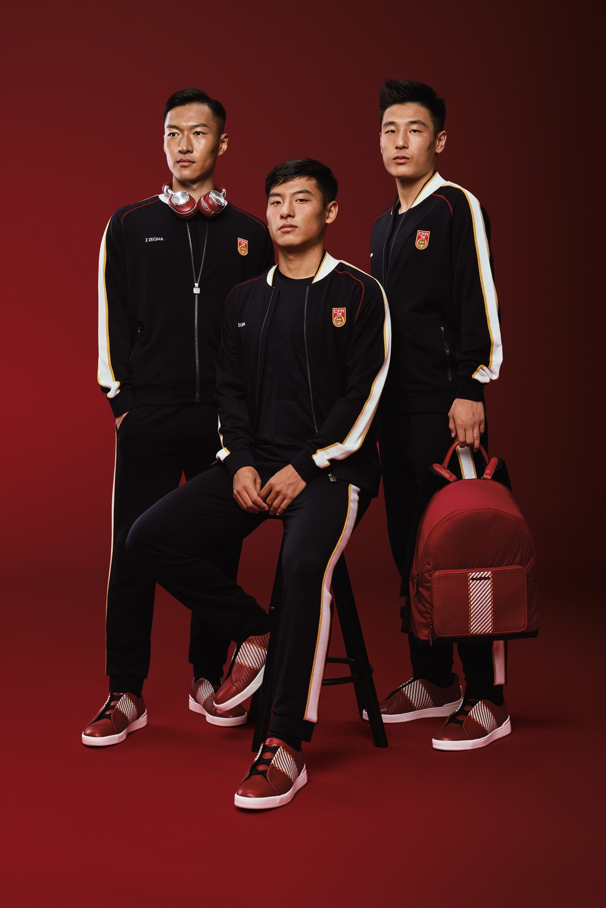 Zegna calcio Team Cina