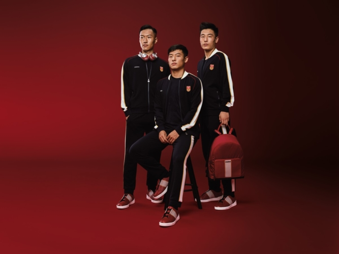 Zegna calcio Team Cina: la capsule collection esclusiva